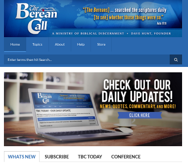 We power the Berean Call website